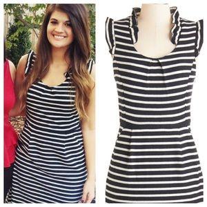 "Modcloth Black & White ""Sweater"" Dress"