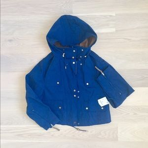 Zara hooded jacket (NEW)