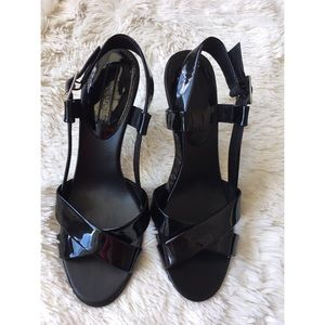 Banana Republic patent leather heels