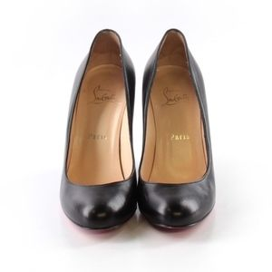 Christian Louboutin, Black Heels, Size 38 (EU)