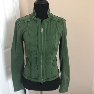 Army green Armani Exchange jacket XS