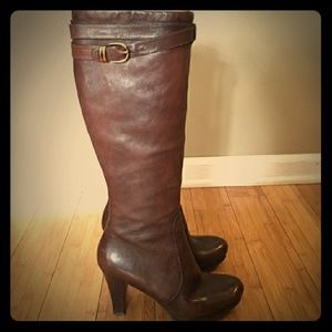 New Via Spiga Leather boots