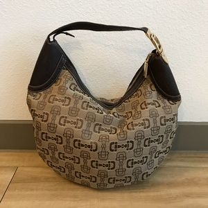 Limited Edition Gucci Sandler-bit handbag brown