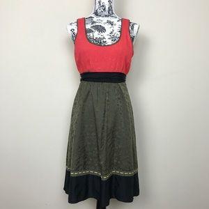 Anthropologie Moulinette Soeurs Silk Retro Dress