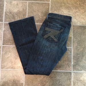 7FAMK Size 28 Flynt Bootcut Jeans 🌵