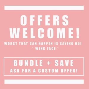 ALL OFFERS WELCOME! // Bundle To Save MORE!