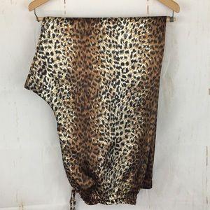 Secret Treasures Satin Animal Print Lounge Pants