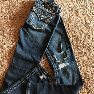 GREAT COND MISS ME  SKINNY JEANS SZ 25