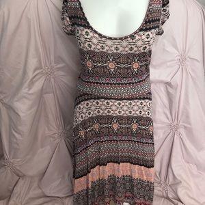 American Rag pinted flowy dress