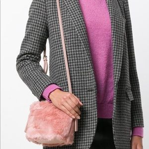 Furla Bags - Furla Caos Pink Fur Moonstone Crossbody