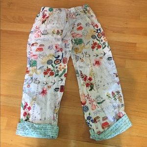 Anthropologie Lilka XS loungers pajama bottoms