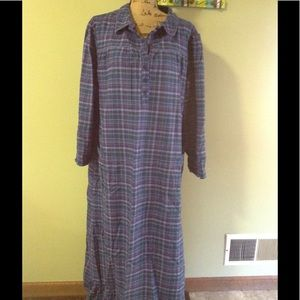 Cabelas flannel gown XL