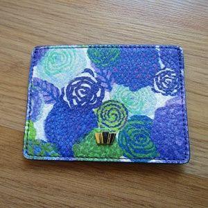 Henri Bendel Leather Card Case