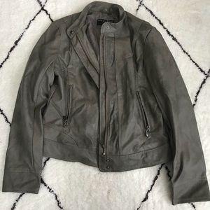 BERNARDO leather jacket
