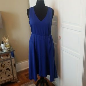 Banana Republic Blue full skirt Dress