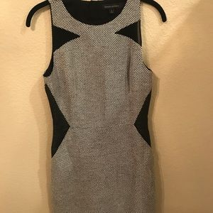 Banana Republic Women's Black and White Dress, 6