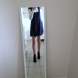 Button down Pinafore Dress * Forever 21