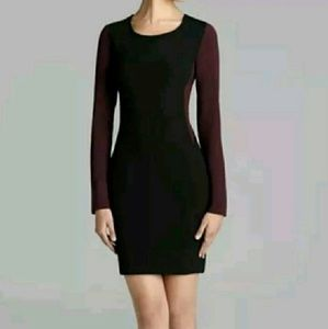 Diane Von Furstenberg Octavia Colorblock Dress