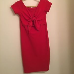 Red Zara Dress with cutout