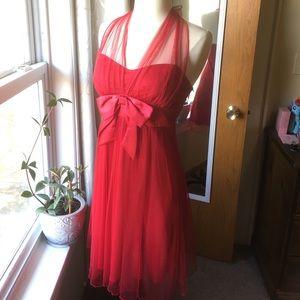 Marilyn Monroe Inspired Halter Dress