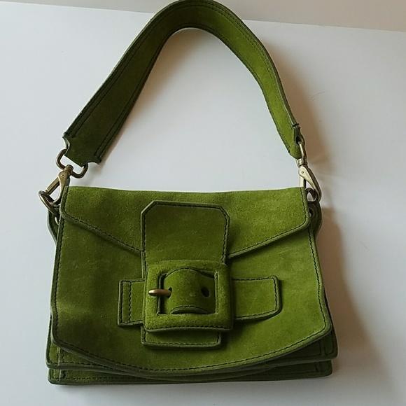 Miu Miu Olive Green Suede Bag. M 59e7ad9441b4e0ae5209b55c 3bad6ba965d63