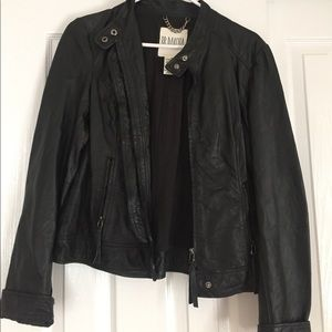 B.B. Dakota leather jacket