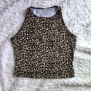 Cheetah Crop Top (Perfect for Halloween)