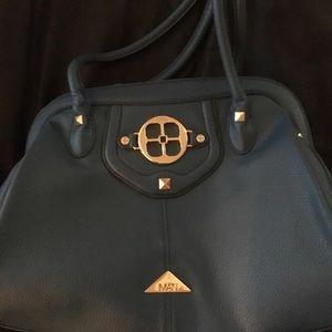 IMAN blue oversized Handbag