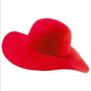 Red Baron Hat x American Apparel floppy hat
