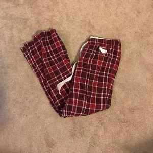 Abercrombie flannel pajama pants