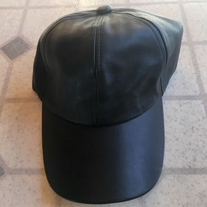 Faux Leather Fashion Nova Baseball Cap