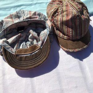 Lucky Brand Caps A pair -2 Ladies