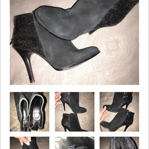 Absolutely adorable ankle boots by BCBG size 6