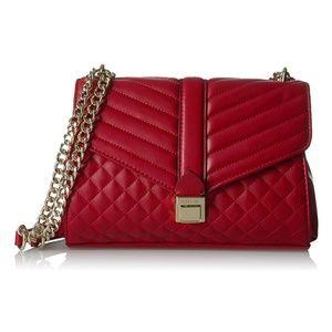 Nine west, arin shoulder bag, red.
