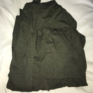 Army Green Utility Jacket from Forever21