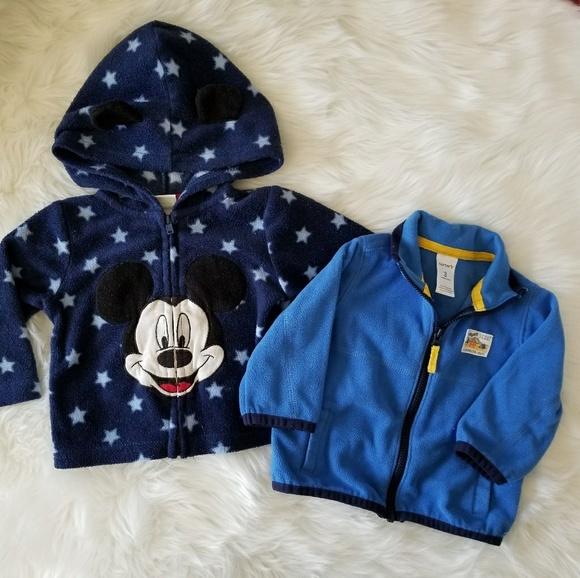 5109f32b0 Disney Jackets & Coats | Carters Baby Boy Blue Sweaters 3 6 M | Poshmark