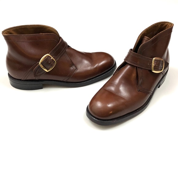 55a7ff8d170 Florsheim Other - Florsheim brown leather Monk Strap ankle boots