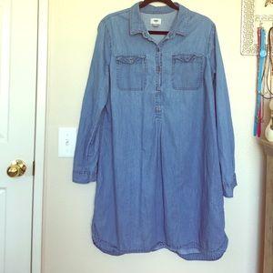 Old Navy Jean Dress