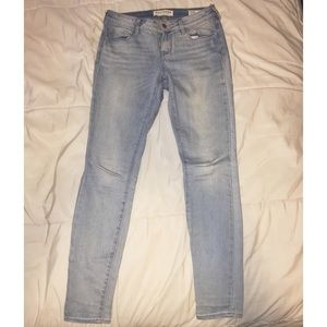 Blue Skinny Jeans by Pacsun