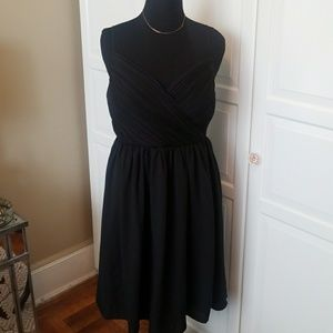 Banana Republic black full dress.