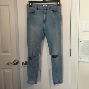 Forever 21 light blue jeans- size 30