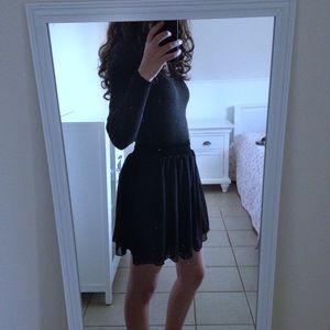 American Apparel * Chiffon Mini Skirt