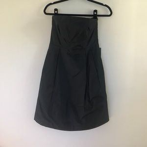 Ann Taylor Strapless LBD with pockets!