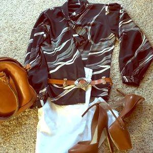 Poly vintage charm blouse