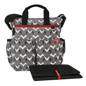 Skip Hop Duo Hearts Diaper Bag