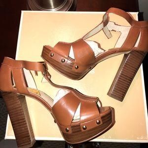Michael Kors T-Strap Sandal (worn once)!
