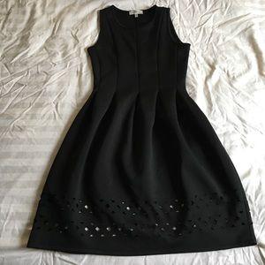 Monteau laser cut dress