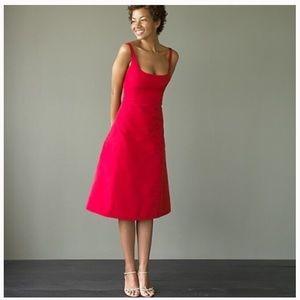 NWOT J. Crew Whitney Faille Silk Dress Size 4