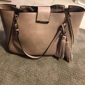 STEVE MADDEN tote bag with tassel!