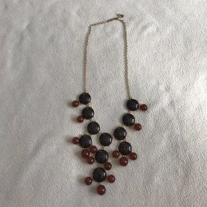 Francesca's Collection Two Tone Brown Bubble Style